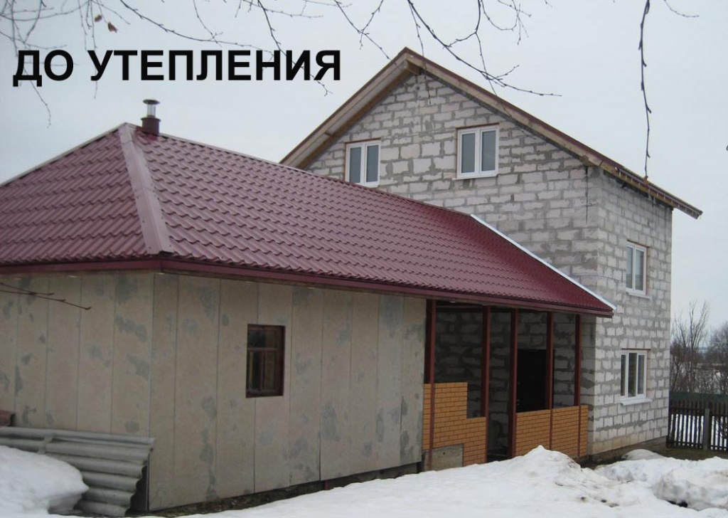 Сочетание цвета при покраске фасада дома